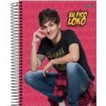 Caderno Universitario - Youtubers Christian Figueiredo - 96 Folhas