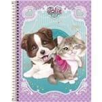 Caderno Univesitario CD 160 Folhas Jolie Pet Tilibra