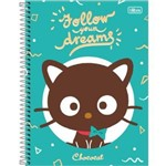 Cadernos Universitario 200 Folhas Chococat