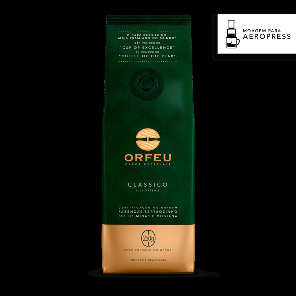 Café Orfeu Clássico para Aeropress | 250g 518