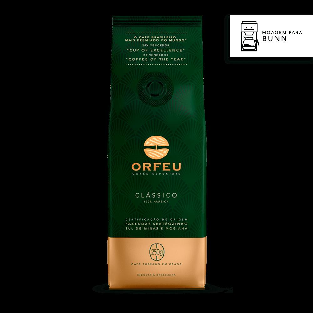 Café Orfeu Clássico para Bunn | 250g 560