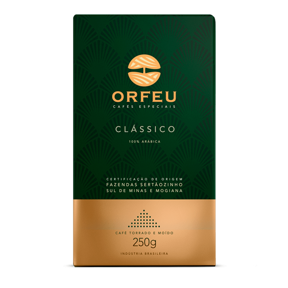Café Orfeu - Clássico Torrado e Moído | 250g 000510