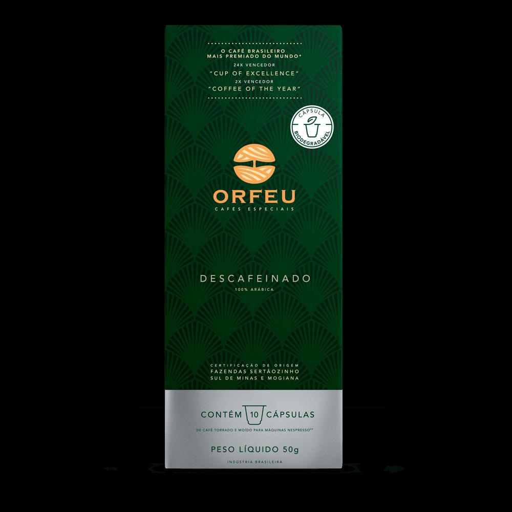 Café Orfeu - Descafeinado em Cápsulas | 10 Unidades 000533