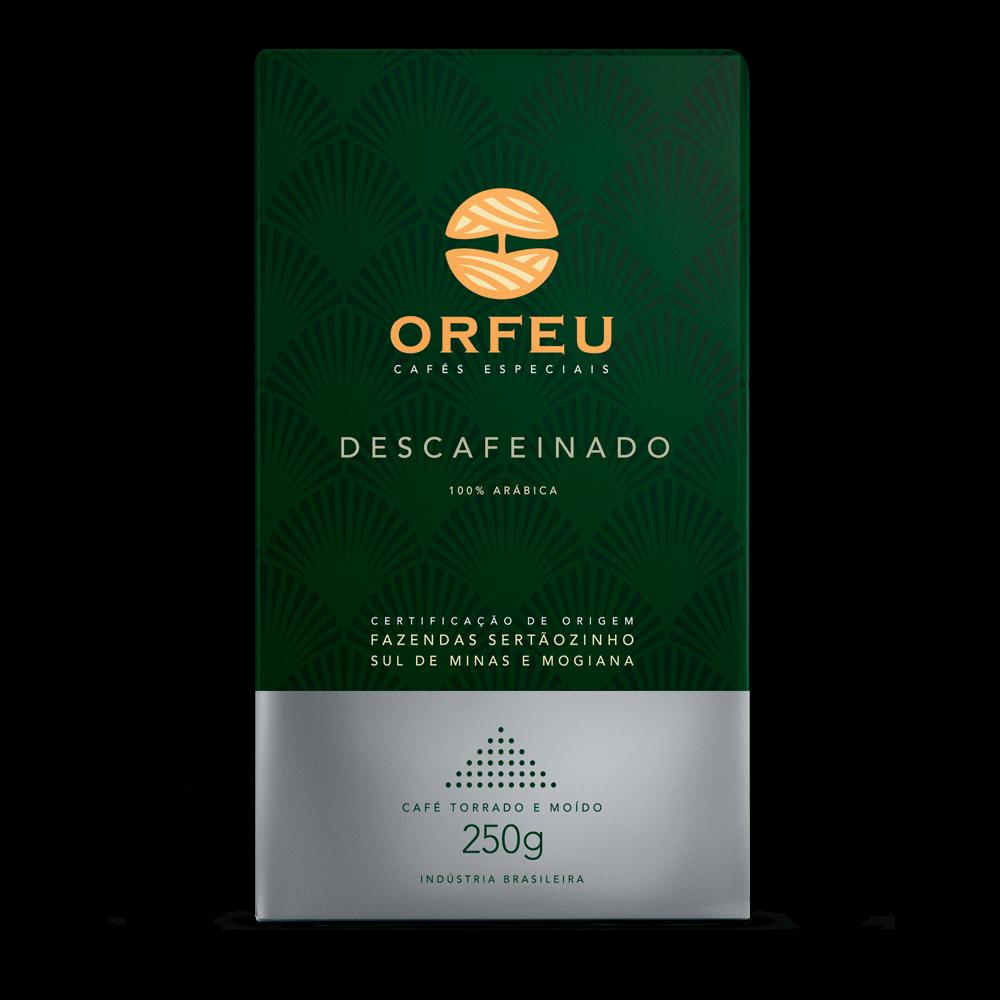 Café Orfeu - Descafeinado Torrado e Moído | 250g 000513