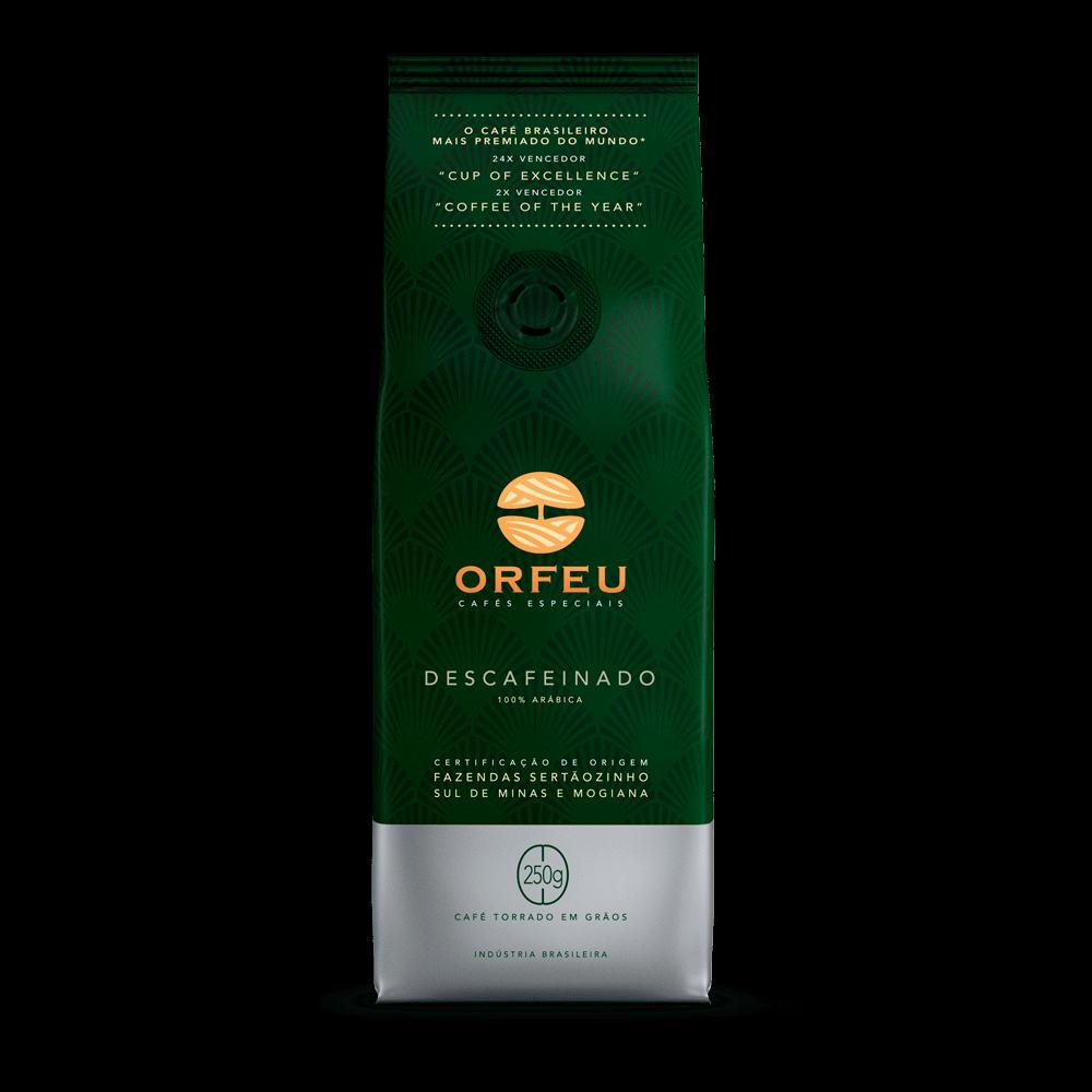 Café Orfeu - Descafeinado Torrado em Grãos | 250g 000505