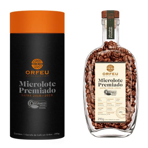 Café Orfeu Microlote Premiado em Grãos Garrafa Numerada | 290g 001653
