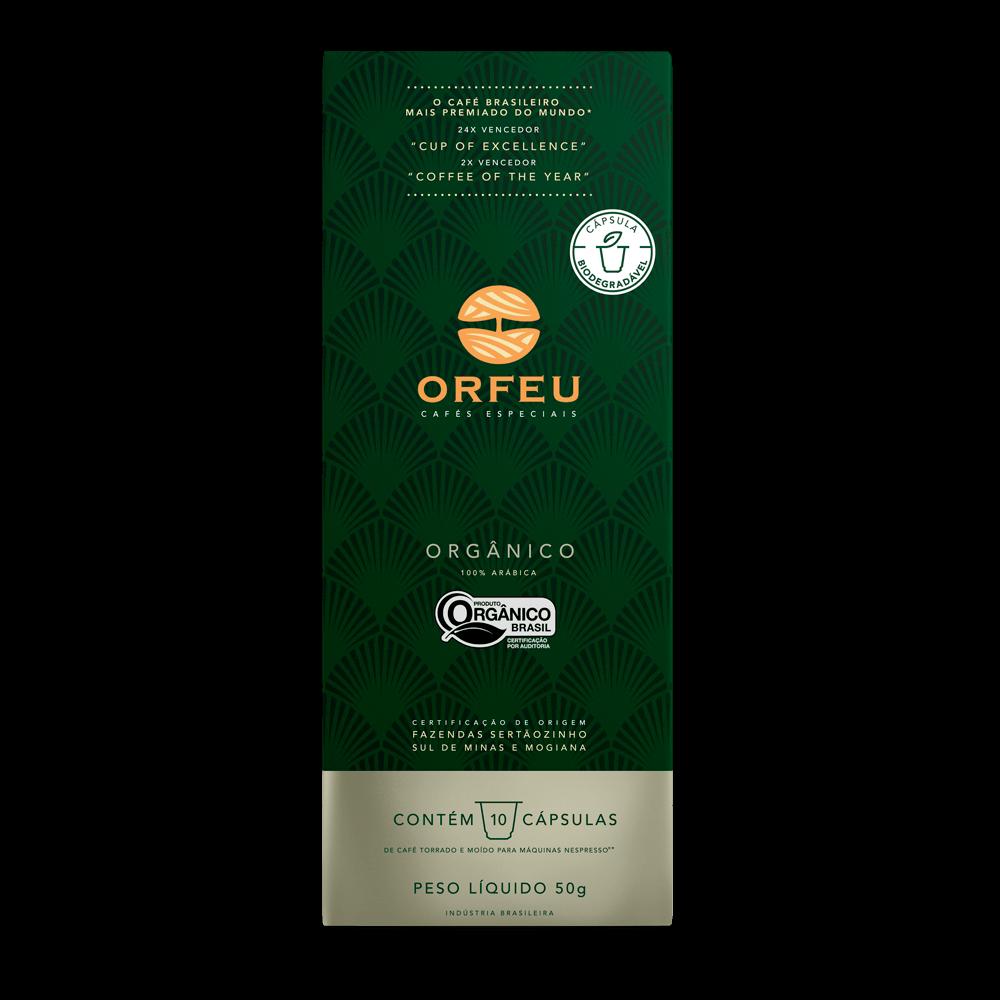 Café Orfeu - Orgânico em Cápsulas | 10 Unidades 000534