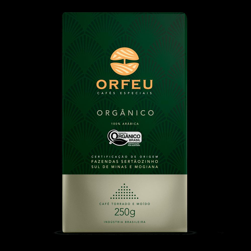 Café Orfeu - Orgânico Torrado e Moído | 250g 000514