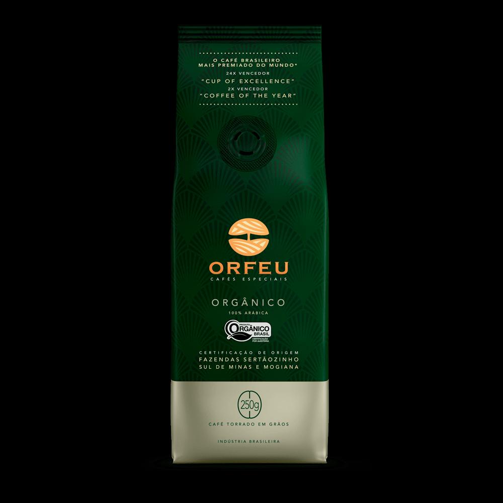 Café Orfeu - Orgânico Torrado em Grãos | 250g 000506