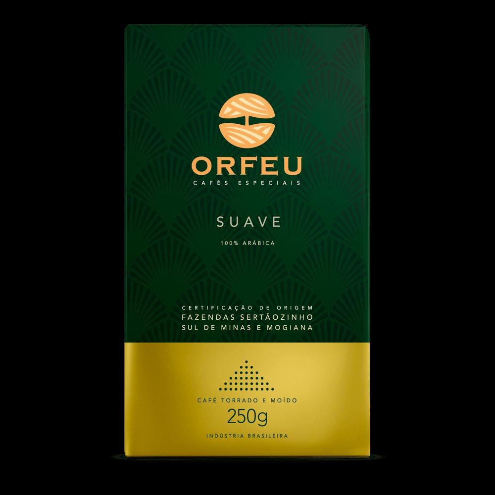 Café Orfeu - Suave Torrado e Moído | 250g 000511