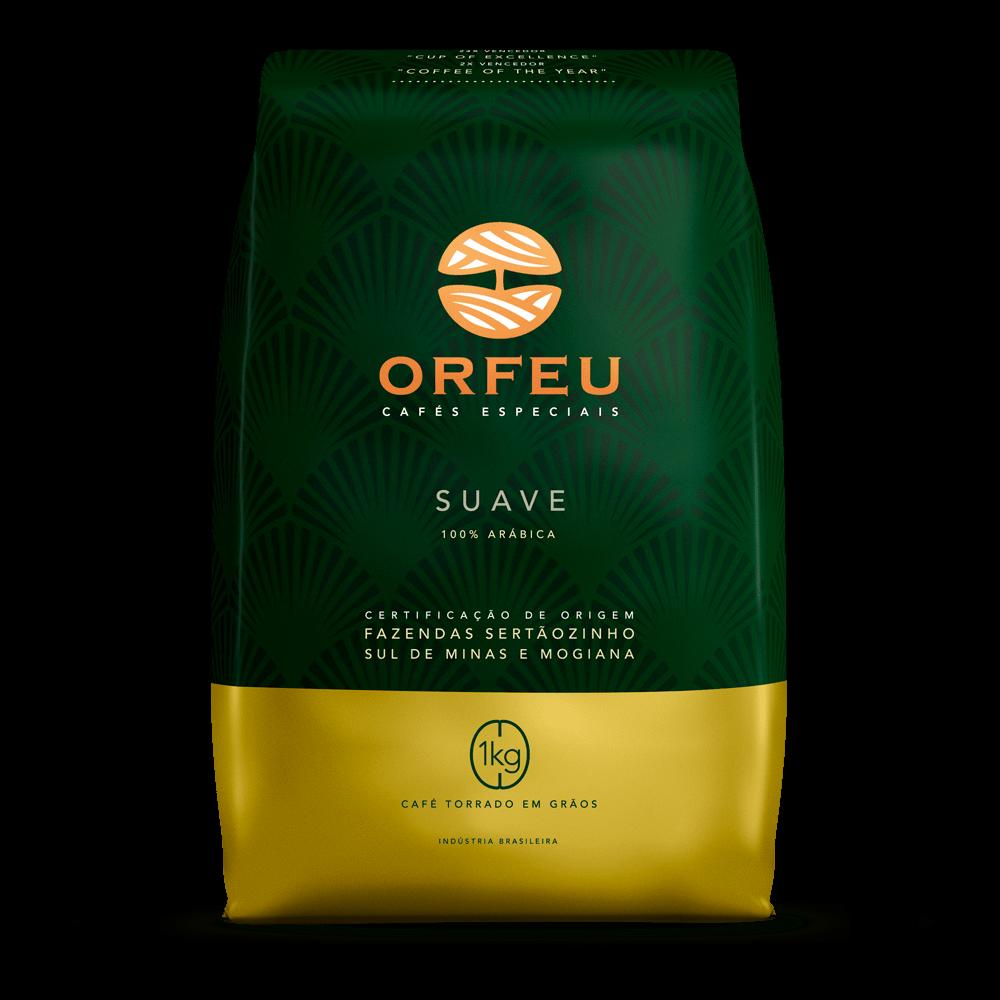Café Orfeu - Suave Torrado em Grãos | 1Kg 000501
