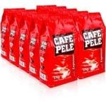 Café Pelé Torrado em Graos 1kg. Fd. C/ 10 Pct.