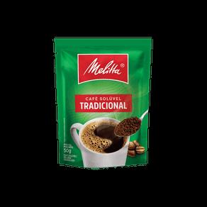 Café Solúvel Granulado Melitta Tradicional 50g (Sachê)