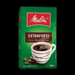 Café Torrado e Moído Melitta Extraforte 500g