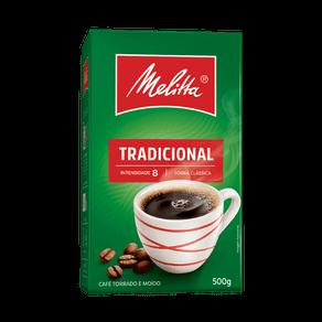 Café Torrado e Moído Melitta Tradicional 500g (caixa)