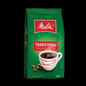 Café Torrado e Moído Melitta Tradicional 500g (pouch)