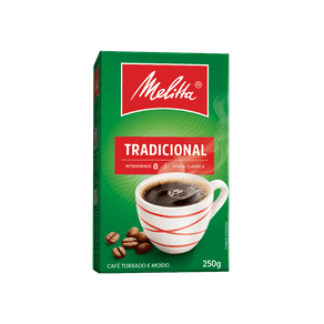 Café Torrado e Moído Melitta Tradicional 250g