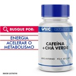 Cafeína 300mg + Chá Verde 250mg 60 Caps