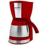Cafeteira Britânia Thermo 1.2 L Vermelha