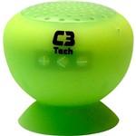 Caixa Acústica Bluetooth 3.0 C3T 3Watts Verde