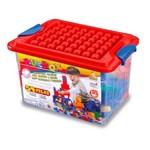 Caixa Busbox 54 Blocos e Figuras para Montar - Dismat