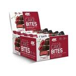 Caixa com 12 Unid Protein Cake Bites Chocolate Cherry Optimum