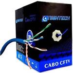 Caixa de Cabo para Rede e Cftv 305 Metros - Cable 5 Blue Jacket 4x24 Awg (s)