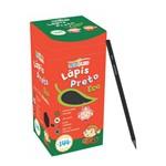 Caixa de Lápis Preto Eco Sextavado Preto Nº2 Hb - Leo&leo