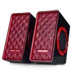Caixa de Som 8w Rms Voxcube Vc-d400 - Vermelha