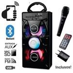 Caixa de Som Bluetooth 12 Watts Rms Infokit Vc-m876qbt C/ Visor Sd/USB/fm e Microfone