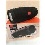 Caixa de Som Bluetooth Explorer Caixinha Portátil + Potente 60w Rms