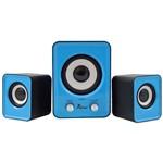 Caixa de Som Bluetooth Subwoofer 2.1 6W Kp-7023 Azul