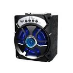 Caixa de Som Bluetooth USB SD AUX FM A-706 Preto