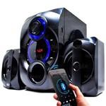 Caixa de Som com Sub Bluetooth 14w - Kp-6025bh