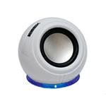 Caixa de Som K-MEX SP-U940 USB/P2 Branco 6 RMS | InfoParts