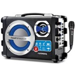 Caixa de Som Mondial 40w Bluetooth 1 Microfone - Mco-04 Bivolt
