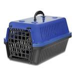 Caixa de Transporte para Cães e Gatos Azul N 1