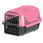 Caixa de Transporte Pet Injet Evolution para Cães Rosa