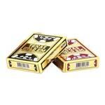 Caixa Dúzia - Baralho 100 Plástico Texas Holdem