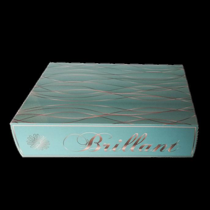 Caixa Livro Brillant Tiffany