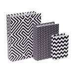 Caixa Livro Decorativo Pattern Preto e Branco P