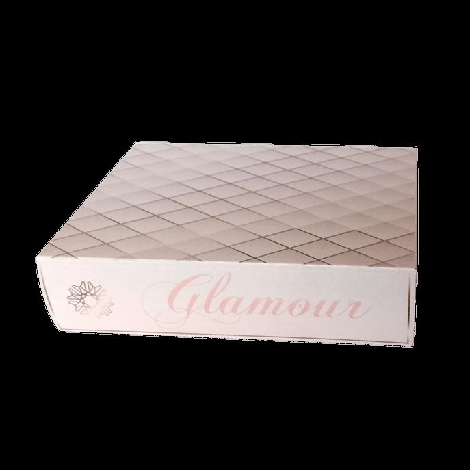 Caixa Livro Glamour Rosa