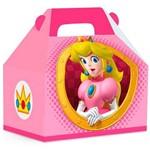 Caixa Maleta Kids Peach Super Mario C/ 10 Unidades