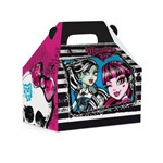 Caixa Maleta Kids Surpresa Monster High Preto 12x8cm C/10