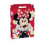 Caixa Maleta P/presente Minnie Disney Vermelho C/10