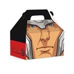 Caixa Maleta P/presente Thor Vingadores Marvel Festa C/10
