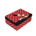 Caixa Organizadora P/presente C/tampa Minnie Disney C/10
