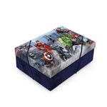 Caixa Organizadora P/presente Tampa Vingadores Marvel C/10