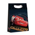 Caixa P/presente Carros Preto Disney 22x9cm C/10