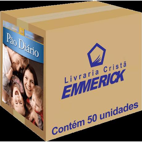 Caixa Pão Diário Vol. 18 Edição de Bolso 50 Unidades